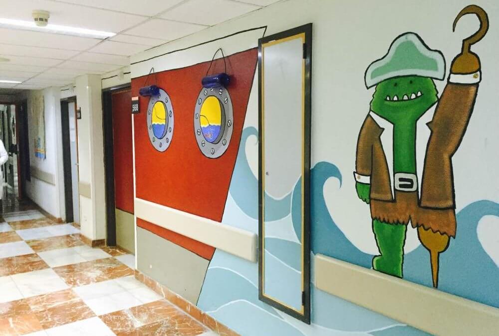 Los hospitales que piensan en los más pequeños.