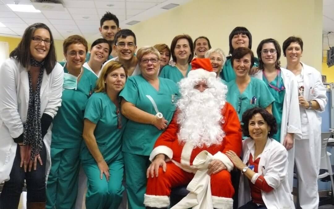 Las Navidades en los hospitales